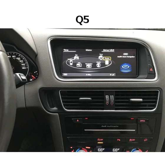 Navigatie Android AUDI Q5 NO MMI Ecran 8.8 Inch NAVD-AUD-A4 B8 8.8 NO MMI