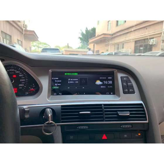 Navigatie Carplay Android AUDI A6 C6 MMI 2G Octa Core 8GB RAM NAVD-AUD-A6 8.8 MMI2G
