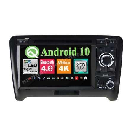 Navigatie Android 10 Audi TT Quad Core 2GB RAM DVD AUTO GPS CARKIT NAVD-MT048