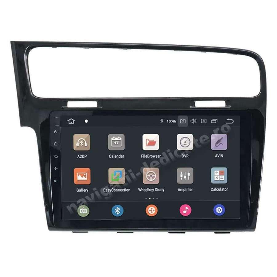 Navigatie Android Vw Golf 7 PX6 4GB Ram 64GB SSD Ecran 10.1 inch NAVD-P1028