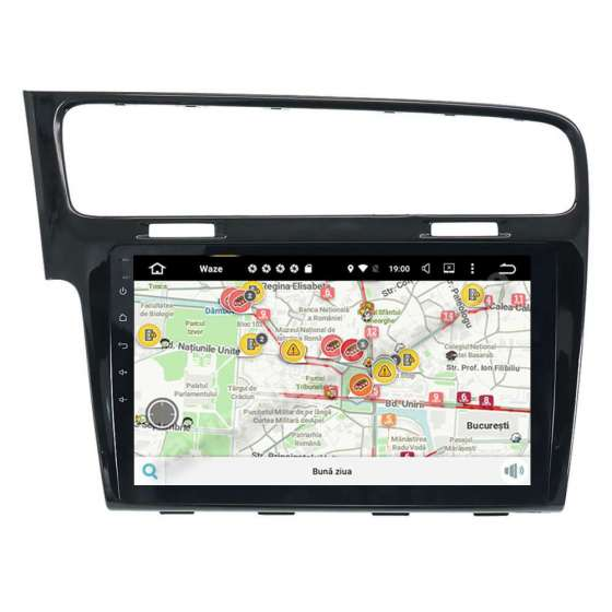 Navigatie Android Vw Golf 7 Octa Core 2GB Ram Ecran 10.1 inch Intel NAVD-I1028