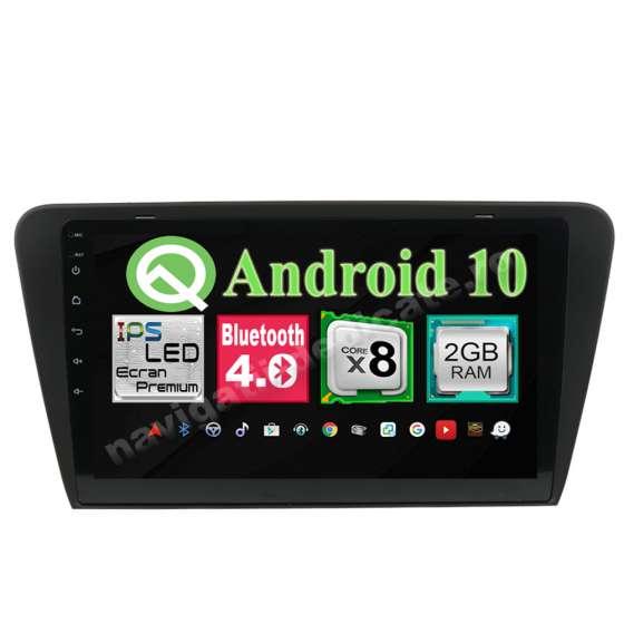 Navigatie Android Skoda Octavia 3 Octa Core 2GB Ram Ecran 10.1 inch NAVD-I5520