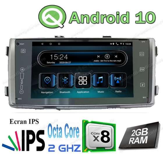Navigatie Android TOYOTA HILUX 2012+ Carkit USB Internet Waze NAVD- I5709