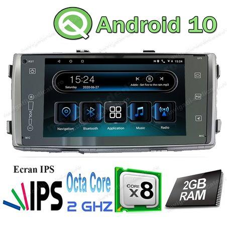 Navigatie Android TOYOTA HILUX 2012+ Intel Carkit USB Internet Waze NAVD-I5709