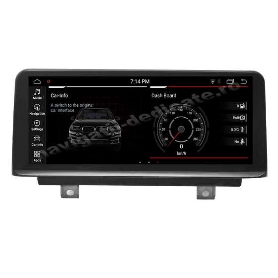 Monitor Navigatie Android BMW F30 F31 F34 Seria 3 4 CIC Bluetooth GPS USB NAVD-F30CIC