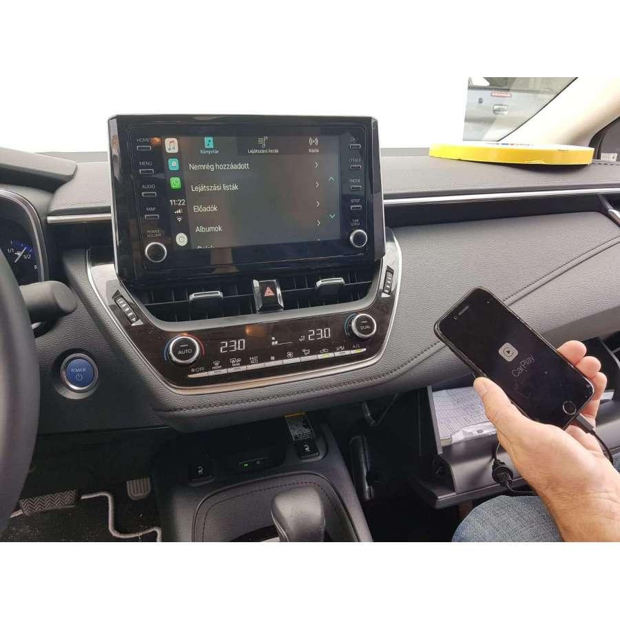 Interfata CarPlay Android Auto Toyota Corolla 2019