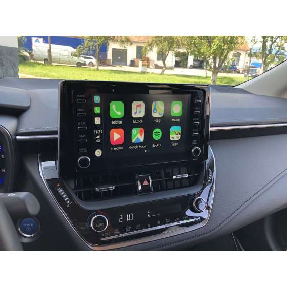 Interfata CarPlay Android Auto Toyota Corolla 2019