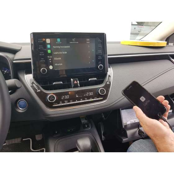 Interfata CarPlay Android Auto Toyota RAV4 2019