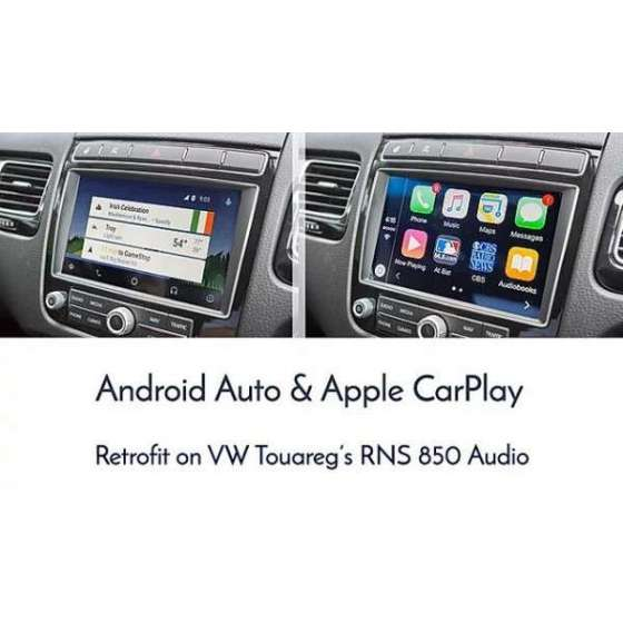 Interfata CarPlay Android Auto Touareg 7P RNS 850