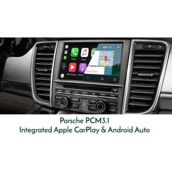 Interfata CarPlay Android Auto Porsche Cayenne Panamera Macan 911 Boxster