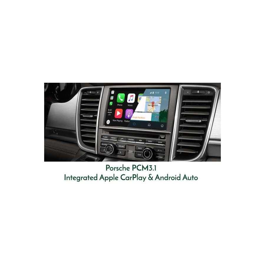 Interfata CarPlay Android Auto Porsche Cayenne Panamera Macan 911 Boxster