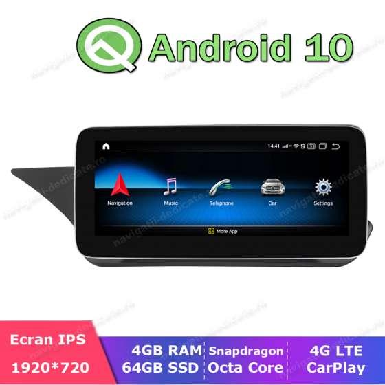 Monitor Navigatie Android Mercedes Benz E Class W212 NTG 5.0 Ecran 10.25 inch Waze Carkit USB NAVD-Z1005C