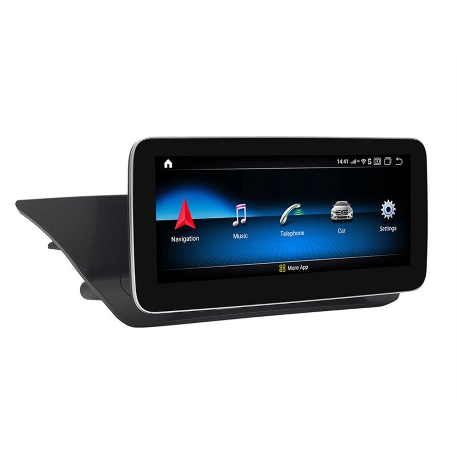Monitor Navigatie Android Mercedes Benz E Class W212 NTG 4.5 Ecran 10.25 inch Waze Carkit USB NAVD-Z1005B
