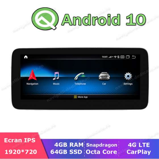 Navigatie Android Mercedes Benz A B Class W176 W246   NTG 4.5 NAVD-M606