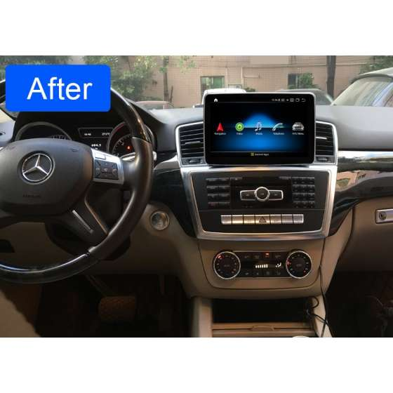 Monitor Navigatie Android Mercedes Benz ML W166 GL X166 NTG 4.5 NAVD-ZF8315