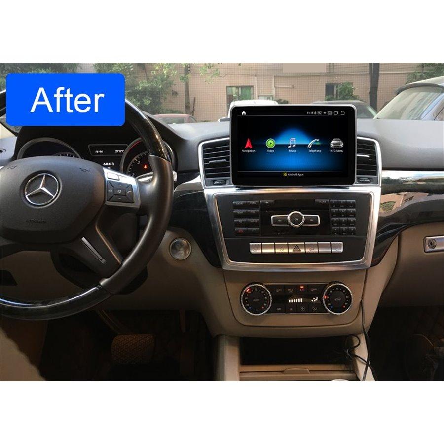 Monitor Navigatie Android Mercedes Benz ML W166 GL X166 CARKIT NAVD-ZF8315