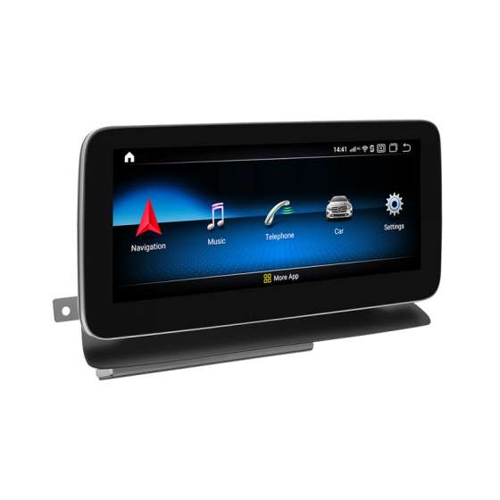 Monitor Navigatie Android Mercedes Benz Cls W218 C218 NTG 4.5 Ecran 10.25 inch Waze Carkit USB NAVD-ZF6326