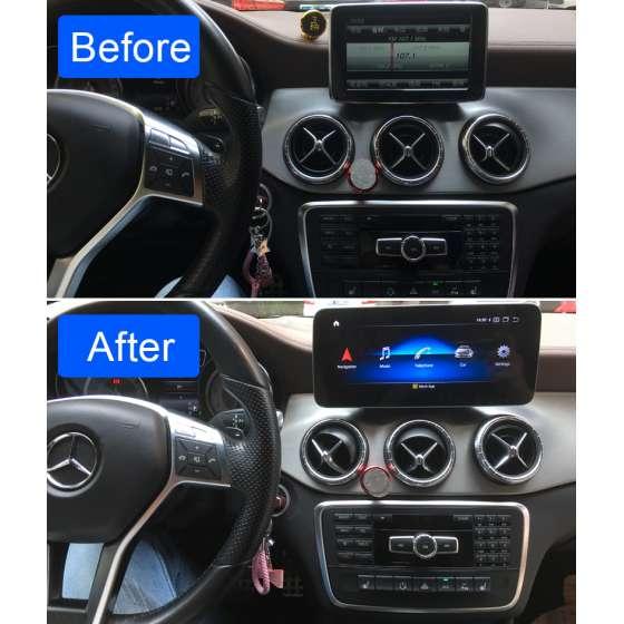 Navigatie Android Mercedes Benz A GLA CLA G Class NTG 4.5 NAVD-1001B