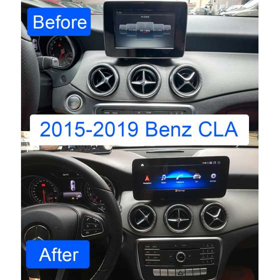 Navigatie Android Mercedes Benz A GLA CLA G Class NTG 5.0 NAVD-1001C