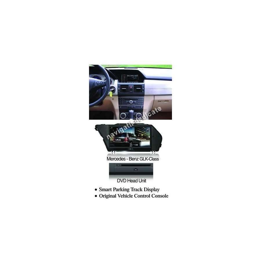 NAVIGATIE DEDICATA MERCEDES BENZ GLK DVD GPS Rezolutie 800*480,