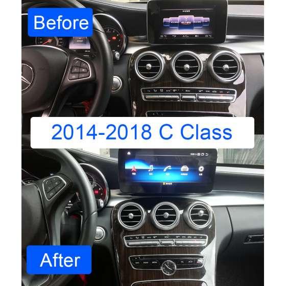 Monitor Navigatie Android Mercedes C Class W205 S205 GLC X253 V Class W447 X Class W470 NTG 5.0 NAVD-Z1003C