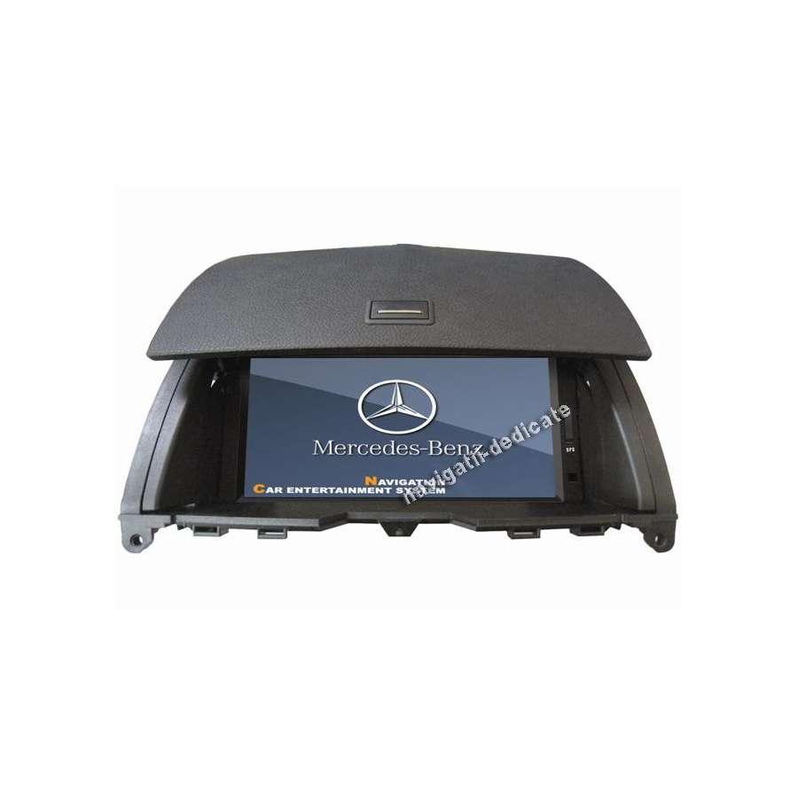 NAVIGATIE DEDICATA MERCEDES BENZ C CLASS W204 DVD GPS CARKIT