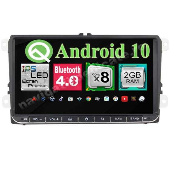 Navigatie Android Intel Volkswagen Skoda Seat Octa Core 2GB Ram Ecran 9 inch NAVD-i9800