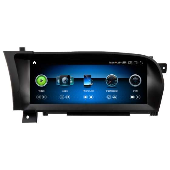 Monitor Navigatie Android Mercedes S-Class W221 CL C216 NTG 3.0 NTG 3.5 NAVD-ZF6321