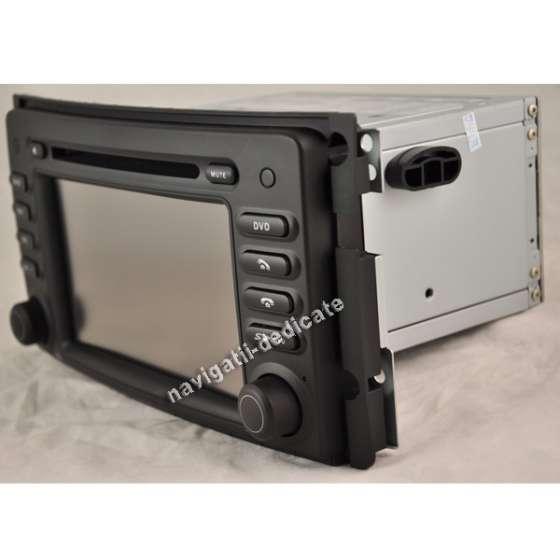Navigatie DEDICATA SMART FORTWO DVD GPS AUTO CARKIT TV NAVD-8987