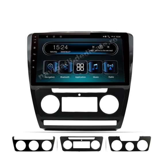 Navigatie Android 10 SKODA OCTAVIA 2 Facelift Octa Core ECRAN IPS LED 10 inch NAVD-I10725