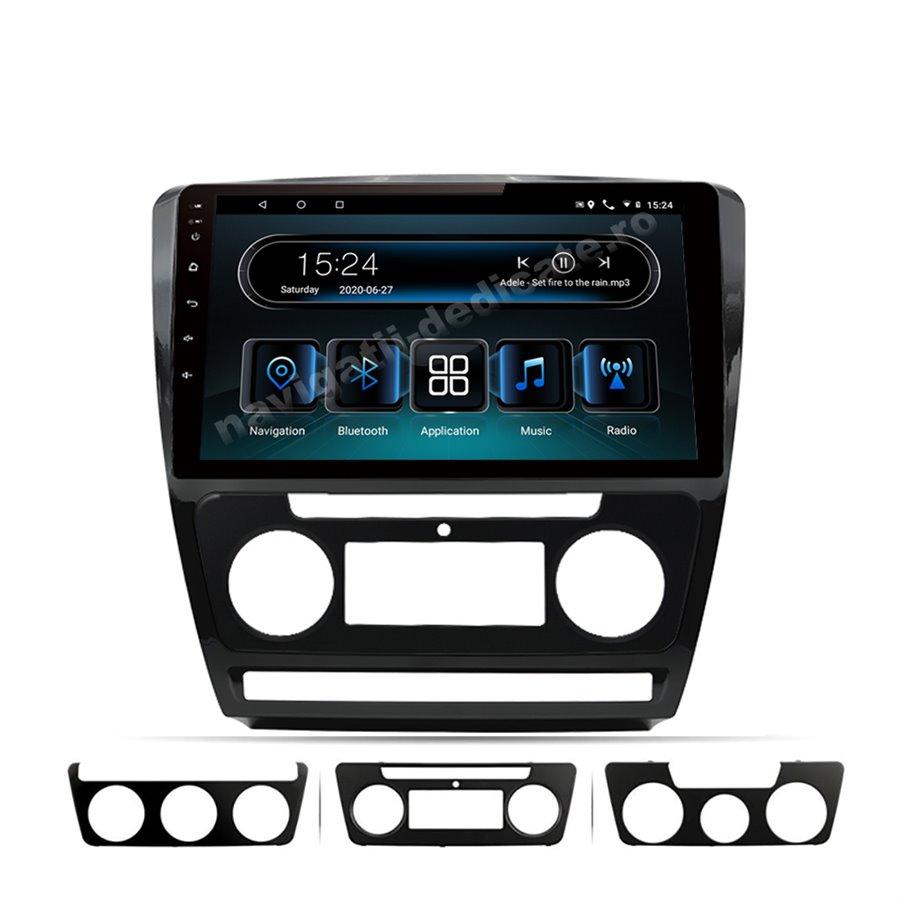 Navigatie Android 10 SKODA OCTAVIA 2 Facelift ECRAN IPS LED 10 inch NAVD-MT10725