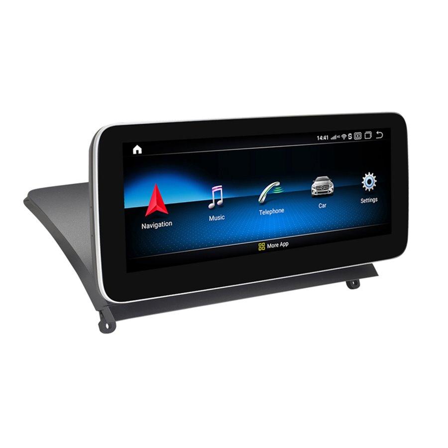 Monitor Navigatie Android Mercedes C Class W204 S204 NTG 4.0 2008 - 2012 Ecran 10.25 inch Waze Carkit USB NAVD-Z1003A1