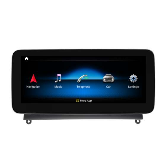 Monitor Navigatie Android Mercedes C Class W204 S204 NTG 4.0 2007 - 2012 Ecran 10.25 inch Waze Carkit USB NAVD-Z1003A1
