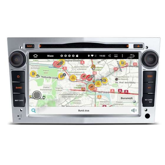 Navigatie Android PX6 4GB Ram 64GB SSD Opel Astra H Vectra Corsa NAVD-P019