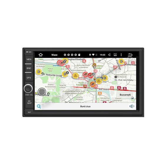 Navigatie 2DIN Universala Android 2GB Ram 16GB SSD USB INTERNET NAVD-AC7300