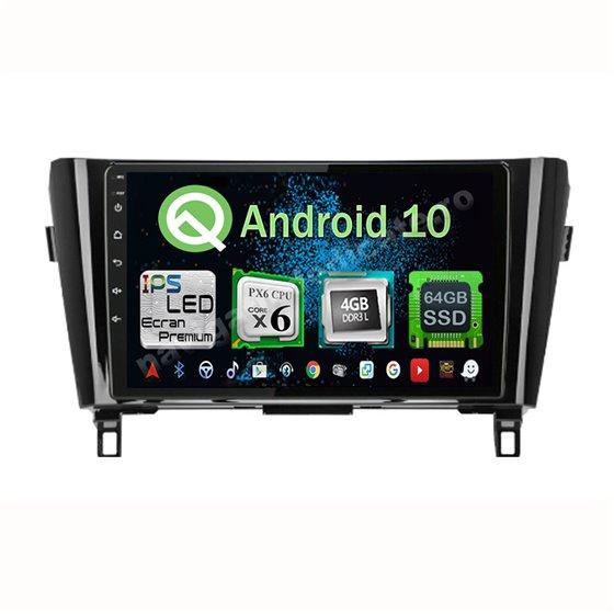 Navigatie Android X-Trail Qashqai 2013-2016 high PX6 4GB Ram Ecran 10.25 inch NAVD-P1030