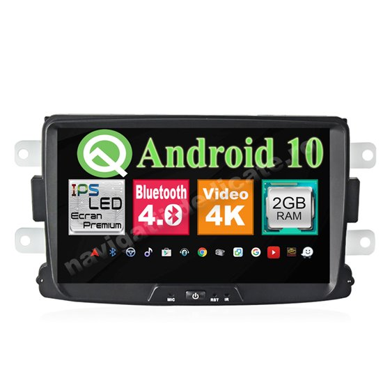 Navigatie Android Dacia Logan Duster Lodgy Sandero Ecran 8 inch NAVD-MT9157