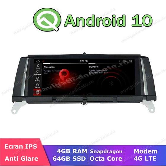 Monitor Navigatie Android BMW X3 F25 X4 F26 NBT Bluetooth GPS USB NAVD-BMW-NBT-X3-F25