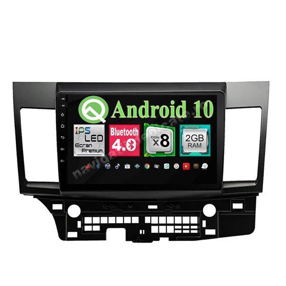 Navigatie Android Mitsubishi LANCER 2006-2015 8 Core 2GB Ram Ecran 10.25 inch NAVD-i1023