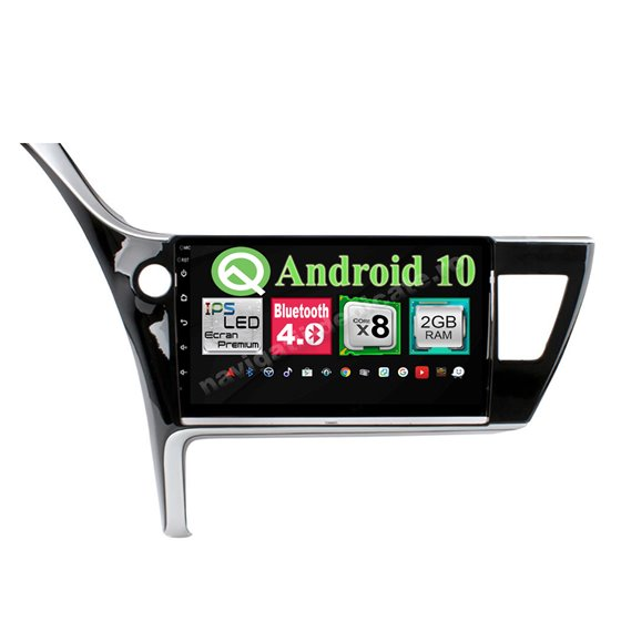 Navigatie Android Toyota Corolla 2017 8 Core 2GB Ram Ecran 10.25 inch NAVD-i1024