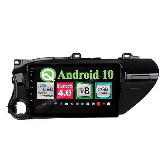 Navigatie Android Toyota Hilux 2016-2018 8 Core 2GB Ram Ecran 10.25 inch NAVD-i1025
