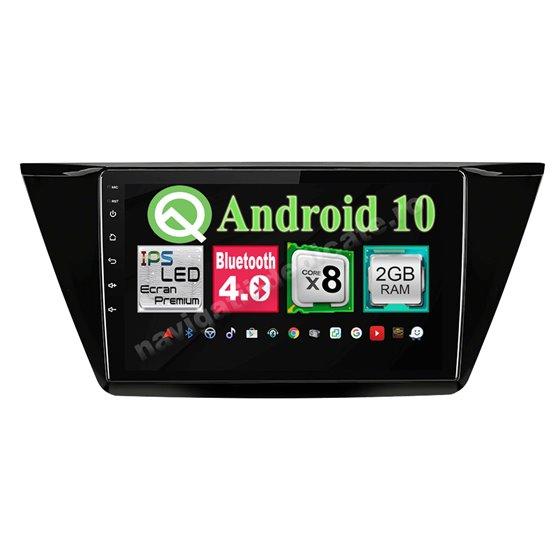 Navigatie Android VW Touran 2016 8 Core 2GB Ram Ecran 10.25 inch NAVD-i1014