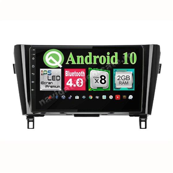 Navigatie Android X-Trail Qashqai 2013-2016 low 8 Core 2GB Ram Ecran 10.25 inch NAVD-i1029