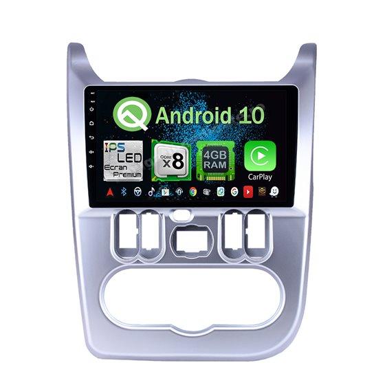 Navigatie Android 10 DACIA LOGAN DUSTER SANDERO Octa Core 4GB Ram Ecran 9 inch Ips NAVD-Z80157
