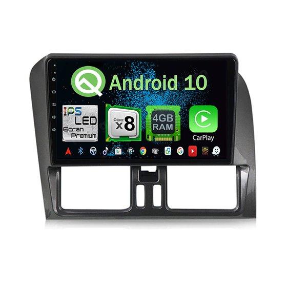 Navigatie Android 10 Volvo XC60 Octa Core 4GB Ram Ecran 9 inch Ips NAVD-Z8XC60