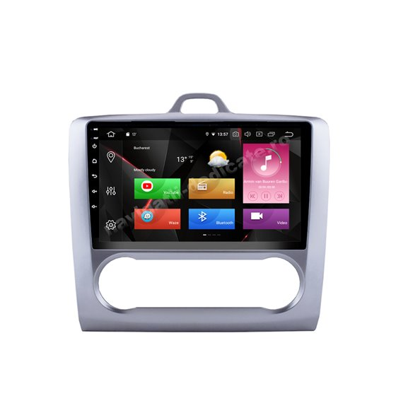 Navigatie Android 10 Ford Focus 2 Octa Core 4GB Ram Ecran 9 inch Ips NAVD-Z80488