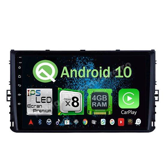 Navigatie Android 10 VW Passat B8 Golf VII Polo Tiguan 2018 Octa Core 4GB Ram Ecran 9 inch NAVD-Z89200