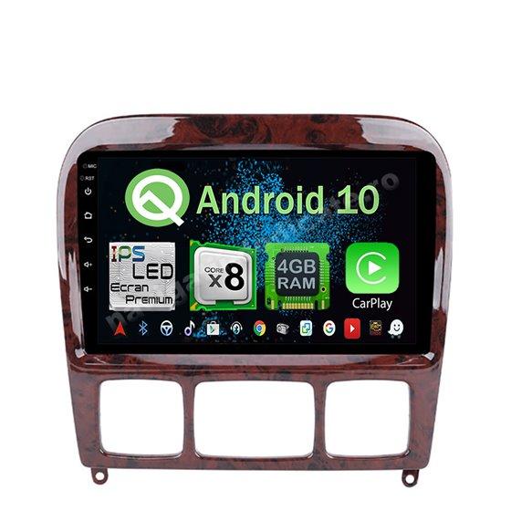 Navigatie Android 10 Mercedes W220 S Class 1999-2005 Octa Core 4GB Ram Ecran 9 inch NAVD-Z8021