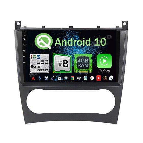 Navigatie Android 10 Mercedes BENZ C W203 2005-2007 Octa Core 4GB Ram Ecran 9 inch NAVD-Z8018
