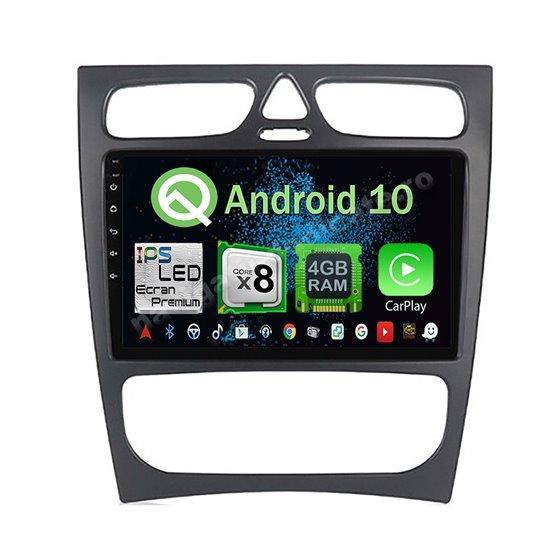 Navigatie Android 10 Mercedes BENZ C W203 2000-2005 Octa Core 4GB Ram Ecran 9 inch NAVD-Z8019
